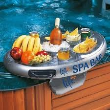 bar flottant spa